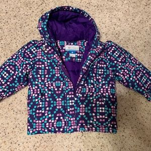 Columbia winter jacket. EUC size 2t